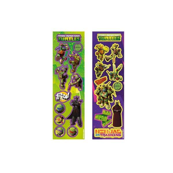Sticker Ninja Turtles, 8 Stück