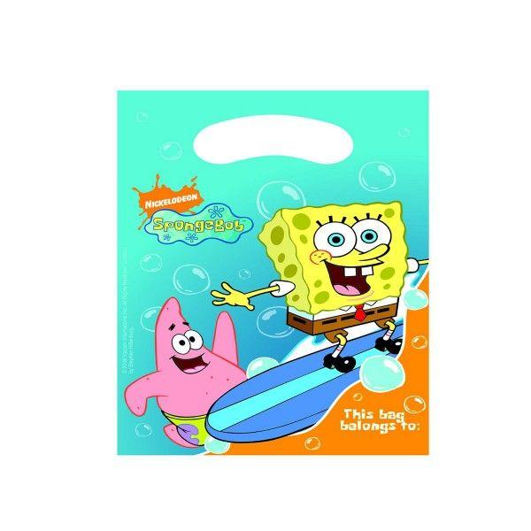 SpongeBob Partytüten, 6 Stück