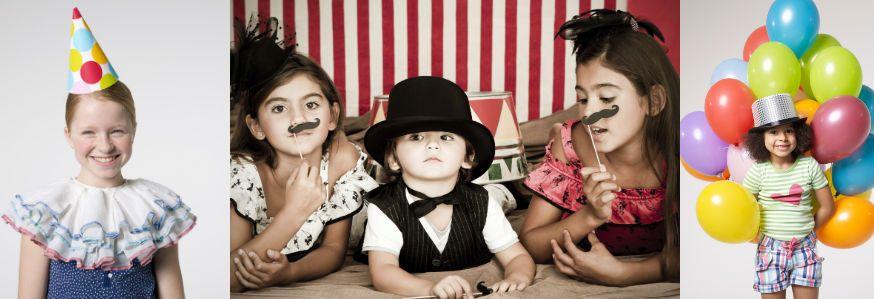 Ob Clown, Akrotbat oder Seiltänzerin, auf dem Zirkusgeburtstag ist jeder willkommen. • Foto: Westend61 (2), Paz Ruiz Luque / Getty Images